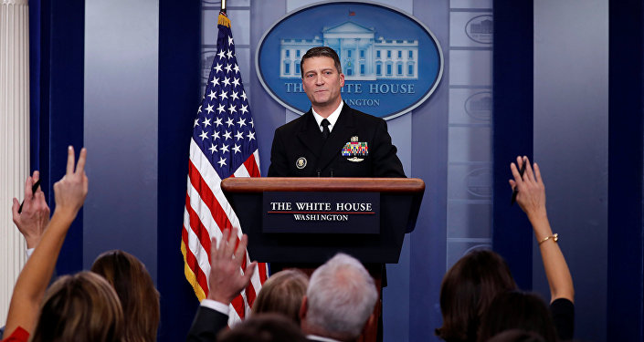 Beyaz Saray doktoru  Ronny Jackson