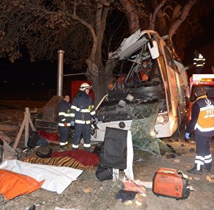 Eskişehir-Otobüs kazası