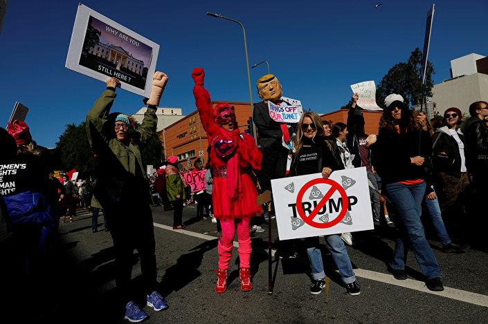 Los Angeles'daki Kadın Yürüyüşü