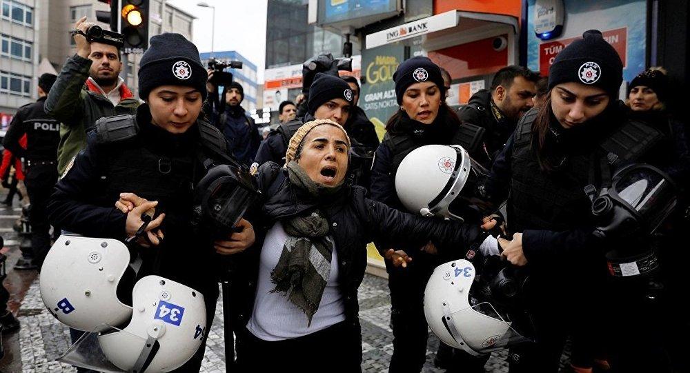 Kadıköy Afrin protesto