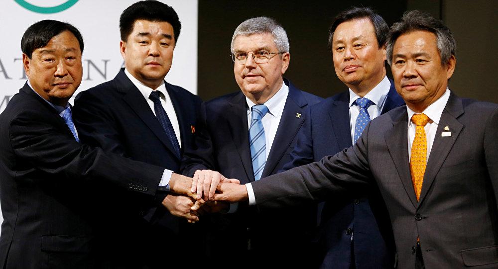 Kuzey Kore- Güney Kore- Olimpiyat