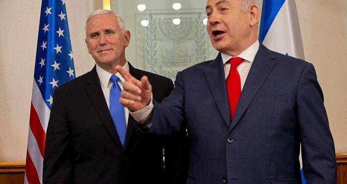 Pence Netanyahu