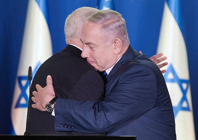 ABD Başkan Yardımcısı Mike Pence ile İsrail Başbakanı Benyamin Netanyahu