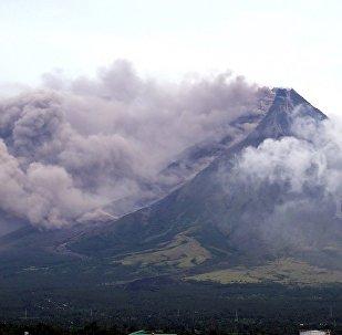 Filipinler, Mayon Yanardağı