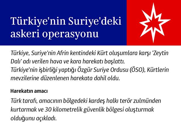 Türkiye'nin Suriye'deki askeri operasyonu