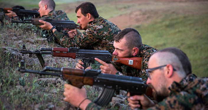 YPG yabancı savaşçılar eğitimde Rasulayn