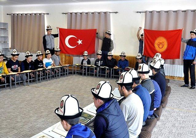 AA'nın 'Kırgız çocuklar Türk ordusu için dua etti' haberinde kullanılan fotoğraf