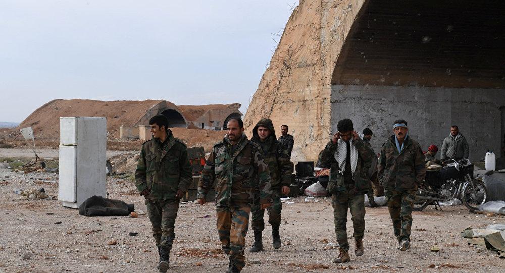 Suriye askerleri- İdlib