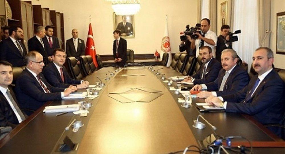 Milli Mutabakat Komisyonu toplandı