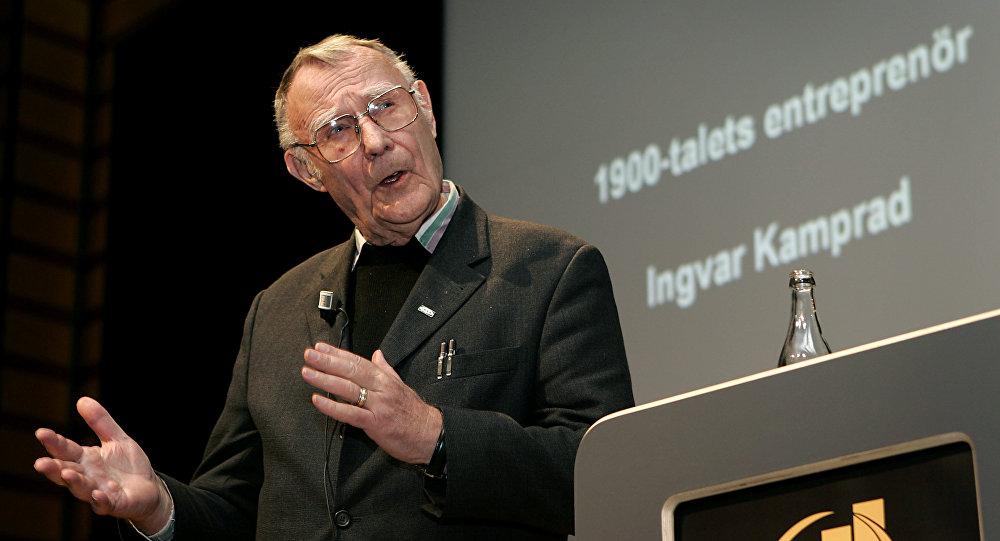 İsveçli mobilya devi IKEA'nın kurucusu Ingvar Kamprad