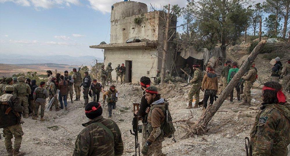 Zeytin Dalı Harekatı'na katılan ÖSO birlikleri