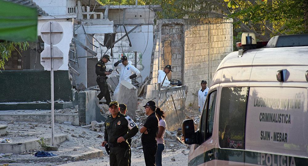 Kolombiya'daki polis noktasına bombalı saldırı