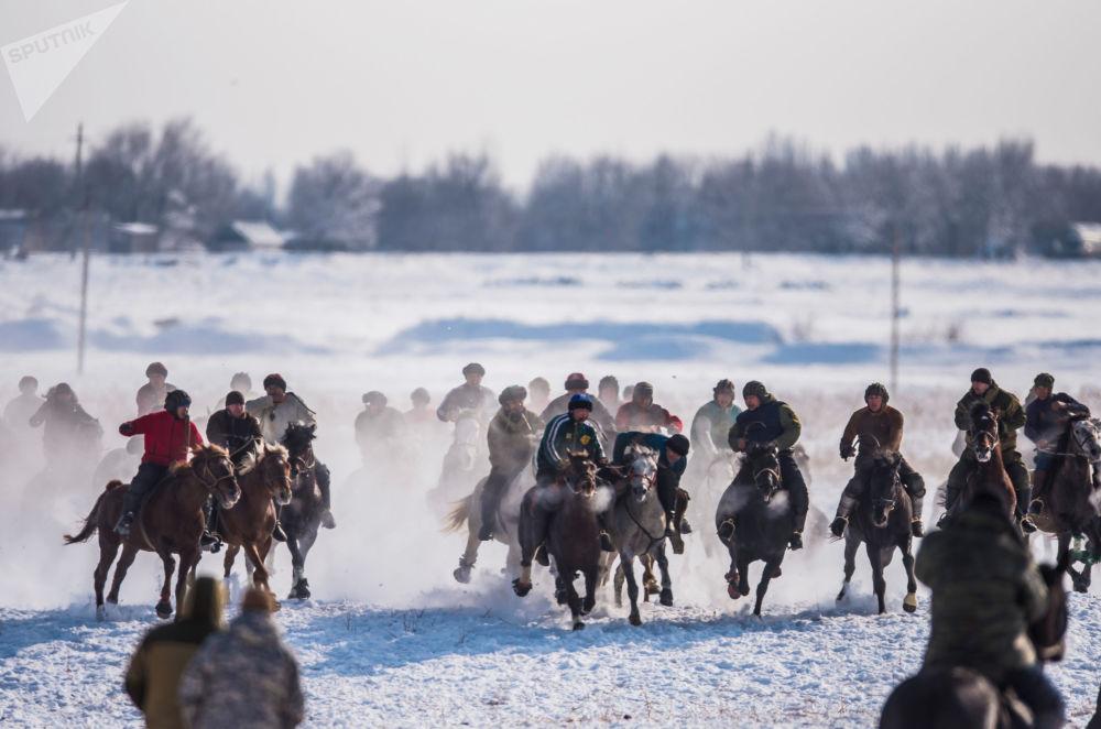 Kırgızların milli oyunu kökbörü