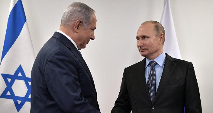 İsrail Başbakanı Benyamin Netanyahu- Rusya Devlet Başkanı Vladimir Putin