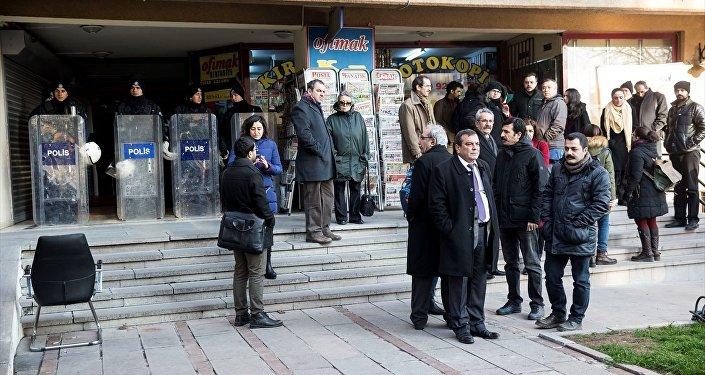 Türk Tabipleri Birliği (TTB) operasyon