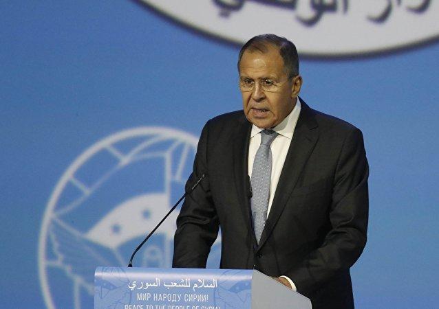 Suriye Ulusal Diyalog Kongresi- Rusya Dışişleri Bakanı Sergey Lavrov