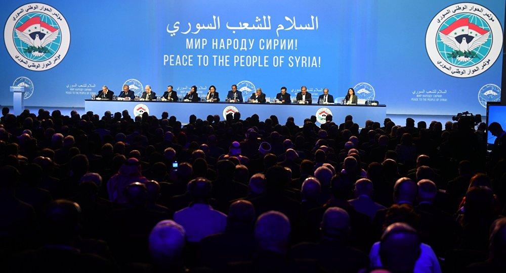 Soçi'deki Suriye Ulusal Diyalog Kongresi'nin sonuç bildirgesi açıklandı