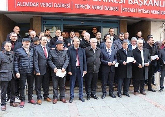 MHP'liler Afrin harekatına destek için vergi borçlarını ödedi