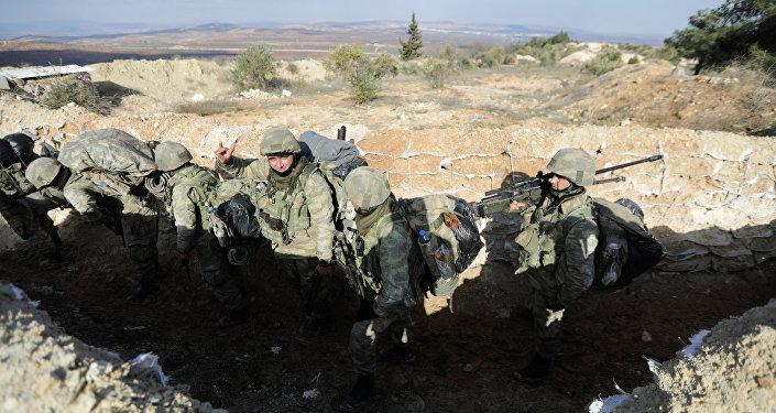 Burseya Dağı Afrin Zeytin Dalı Harekatı