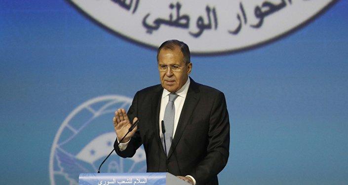 Rusya Dışişleri Bakanı Sergey Lavrov Soçi'de