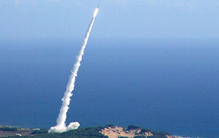 ABD, Minuteman III füzesi denemesinin görüntülerini yayınladı