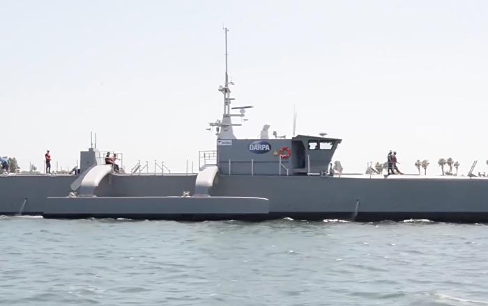 ABD'de insansız denizaltı avcısı test edildi