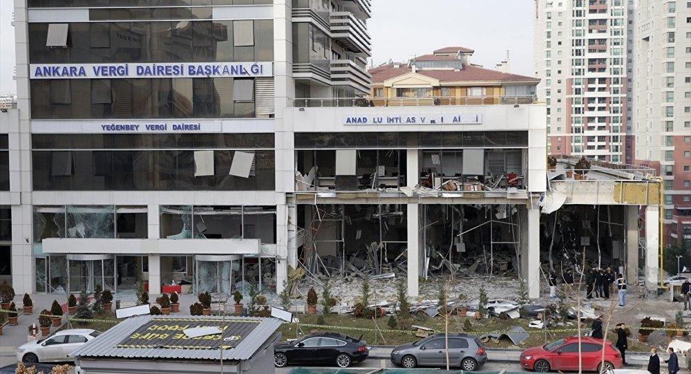 Ankara Vergi Dairesi patlama