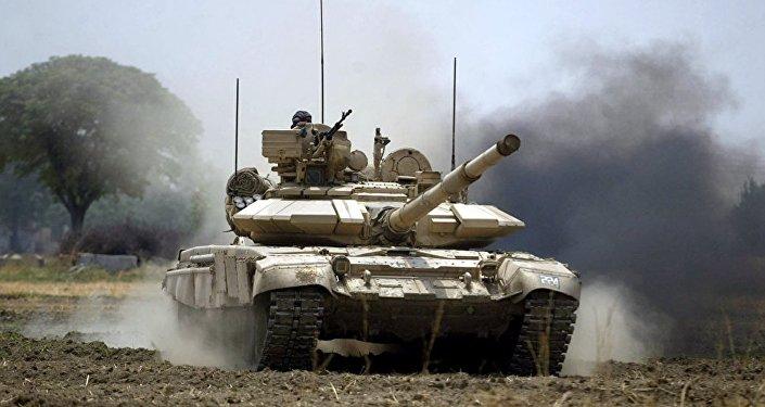 Rus T-90 Tankı