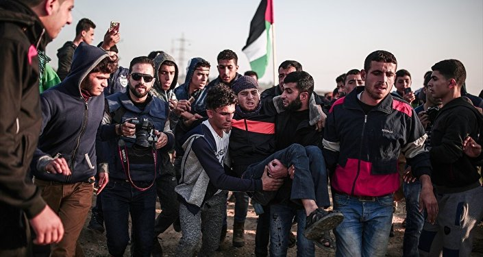 Gazze'de Kudüs protestoları
