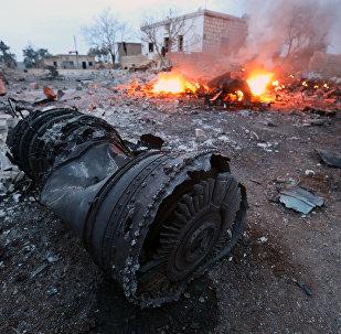 Suriye'de Rus uçağı düşürüldü