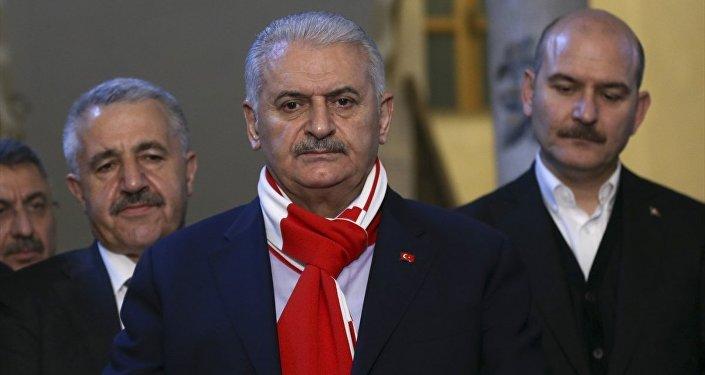 Başbakan Binali Yıldırım ve İçişleri Bakanı Süleyman Soylu