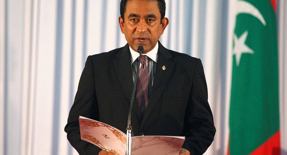 Maldivler Devlet Başkanı Abdulla Yamin Abdül Gayyum