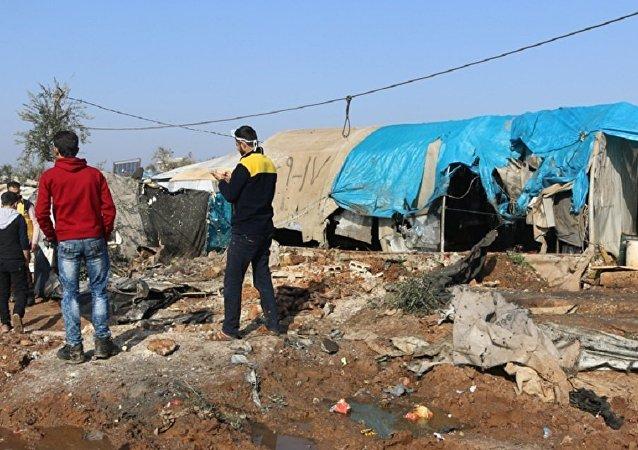 sığınmacı kampı