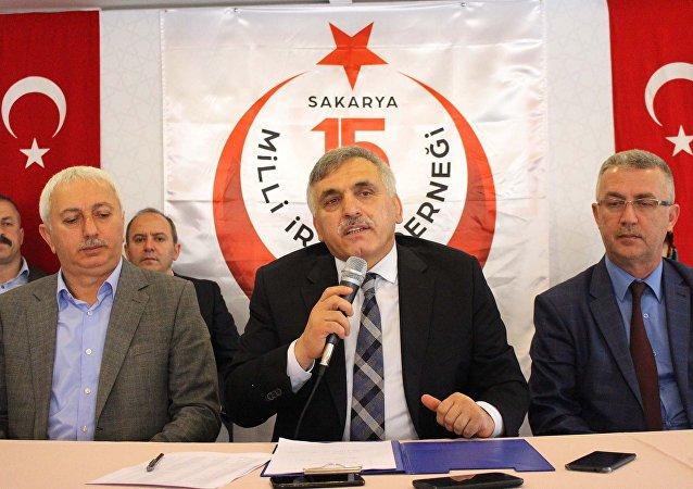 15 Temmuz Milli İrade Derneği Başkanı ve eski AK Parti Milletvekili Ali İnci