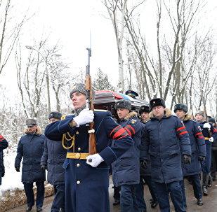 Rus pilot Filipov'un cenazesi