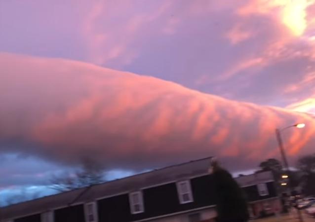 ABD'de kilometrelerce uzunlukta bulut kümesi görüldü