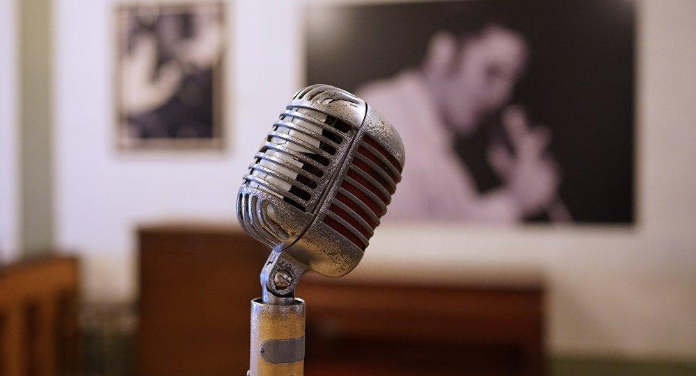 Mikrofon, şarkı yarışması