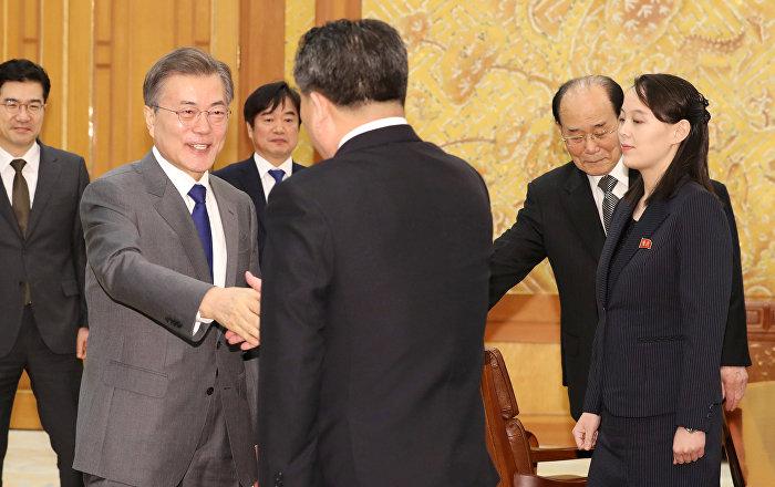 Olimpiyat'taki 'birleşmenin' ardından Kim'den Güney Kore liderine davet