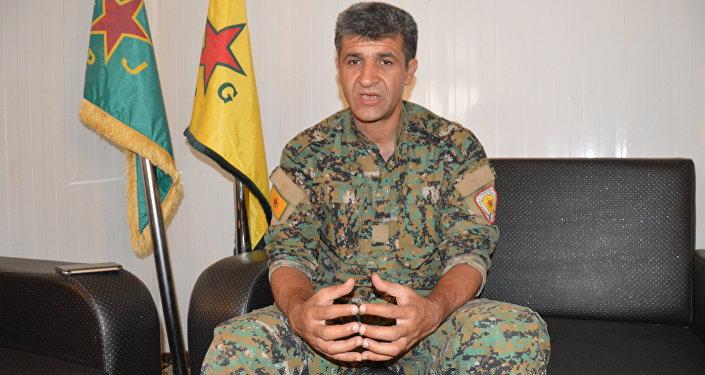 YPG Sözcüsü Nuri Mehmud
