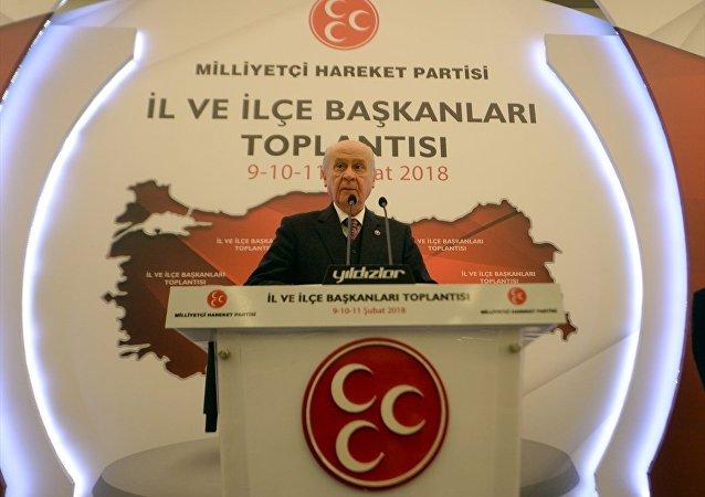 Milliyetçi Hareket Partisi (MHP) Genel Başkanı Devlet Bahçeli
