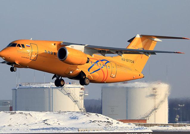 71 kişiyi taşıyan yolcu uçağı Moskova'da düştü