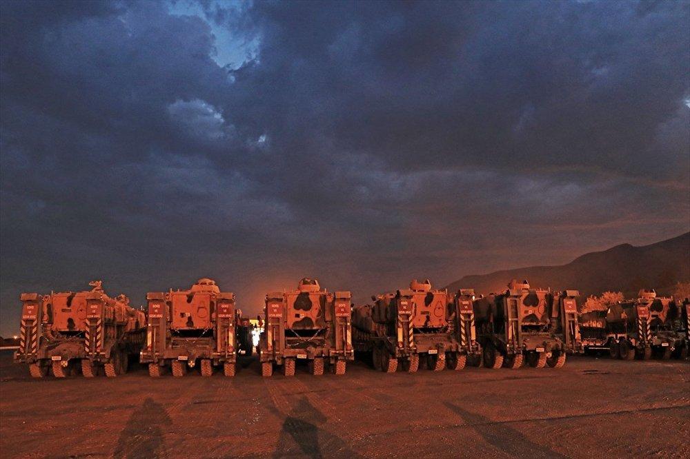 TSK, sınır sevkiyat, tank