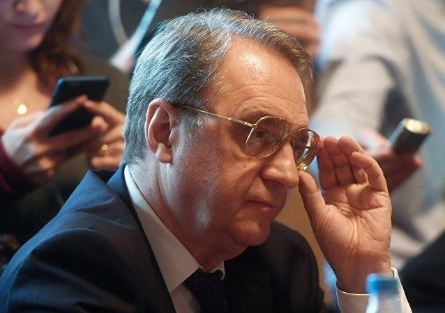 Rusya Devlet Başkanı Vladimir Putin'in Ortadoğu Özel Temsilcisi ve Dışişleri Bakan Yardımcısı Mihail Bogdanov