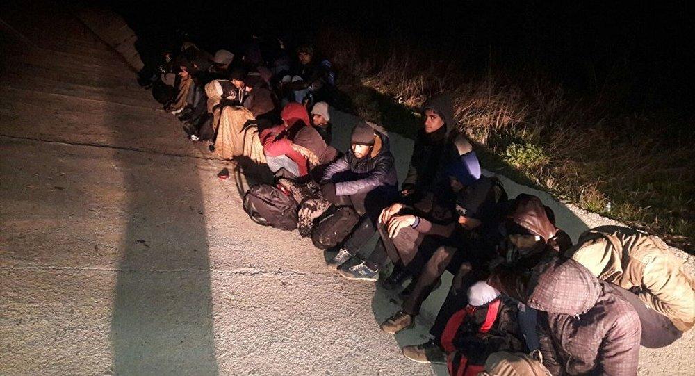 Pakistanlı 27 kaçak Tekirdağ'da bulundu