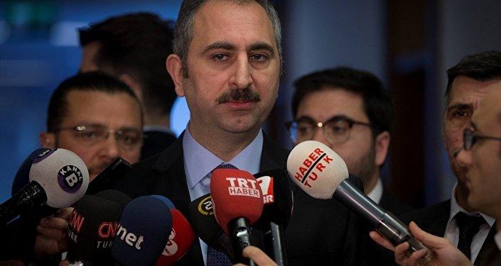 Adalet Bakanı Abdulhamit Gül