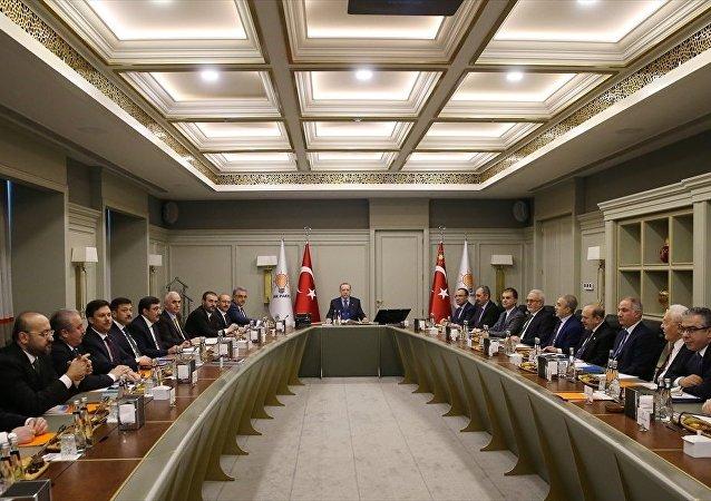 Erdoğan, uyum komisyonu üyeleri