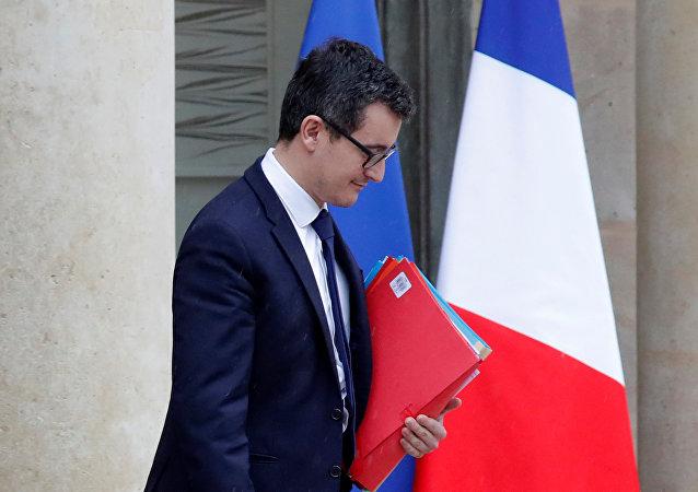Fransa Maliye Bakanı Gerald Darmanin