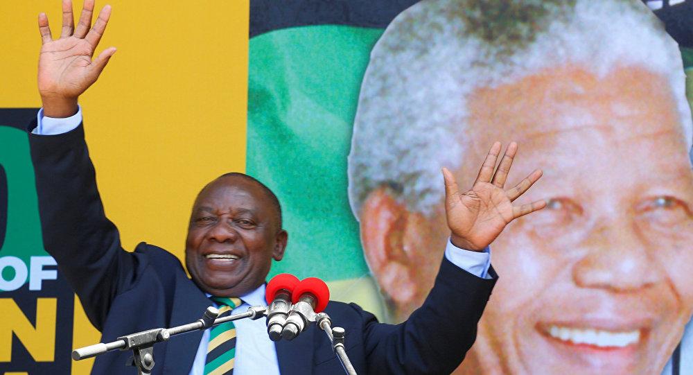 Güney Afrika'nın yeni devlet başkanı Cyril Ramaphosa