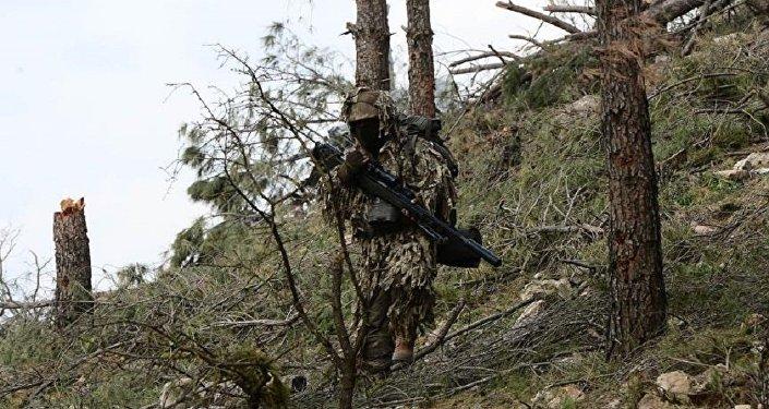 TSK'nın keskin nişancıları Afrin'de