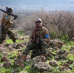 Afrin'deki Türkiye destekli ÖSO savaşçıları